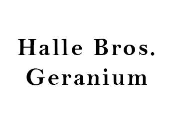 Halle Bros Geranium